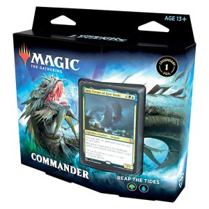 Magic The Gathering: Commander Legends Commander Deck – Reap The Tides