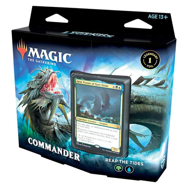 Magic The Gathering: Commander Legends Commander Deck – Reap The Tides