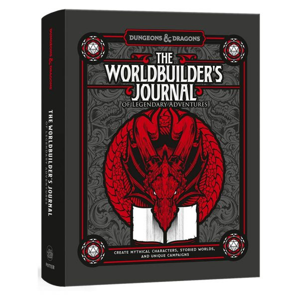 The Worldbuilder's Journal of Legendary Adventures (Dungeons & Dragons)