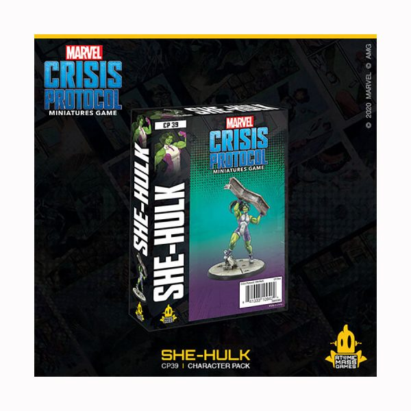 She-Hulk character pack for Marvel Crisis Protocol