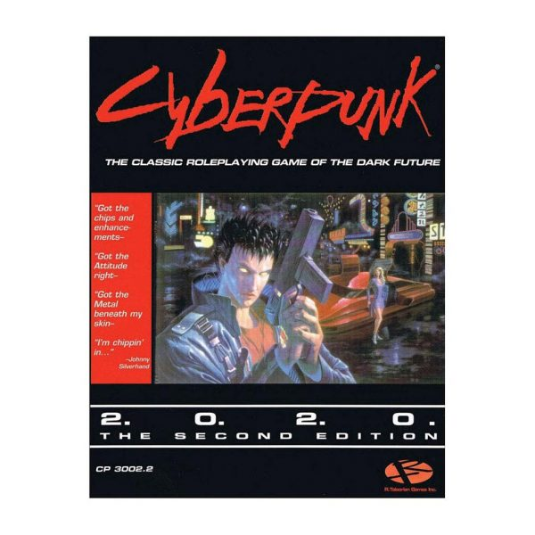 Cyberpunk 2020 RPG: Core Rulebook