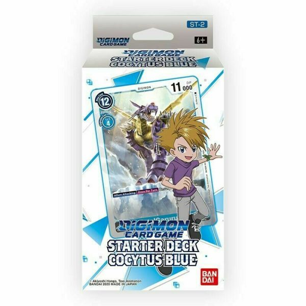 Digimon Card Game: Starter Deck- Cocytus Blue