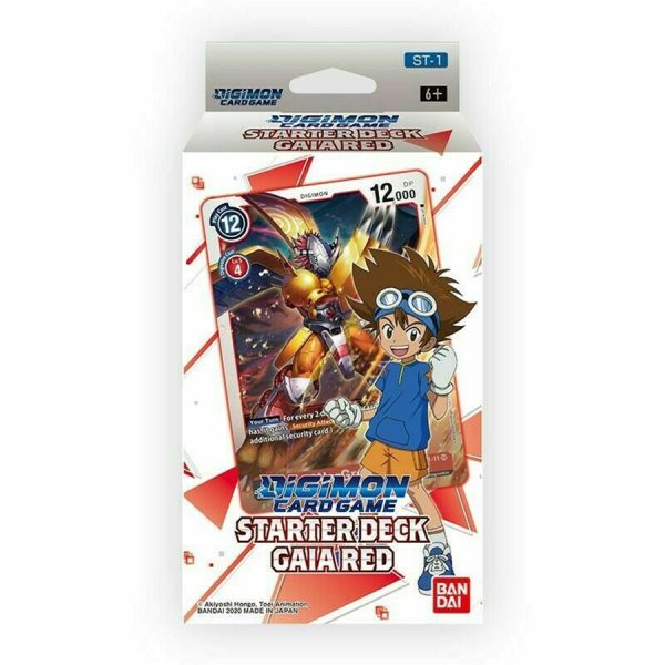Digimon Card Game: Gaia Red Starter Deck
