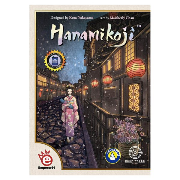 Hanamikoji Card Game