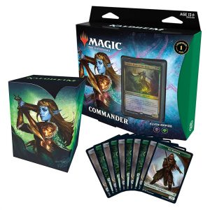 Magic The Gathering: Kaldheim Commander Deck – Elven Empire