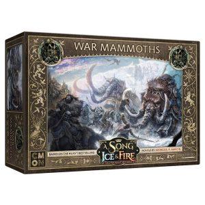 Free Folk War Mammoths: A Song of Ice & Fire Miniatures Game