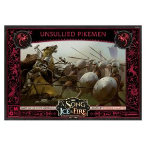 Targaryen Unsullied Pikemen: A Song of Ice & Fire Miniatures Game