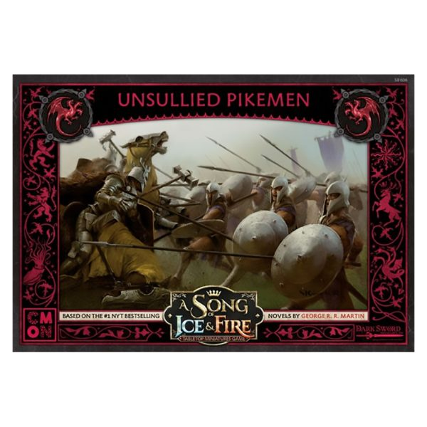 Targaryen Unsullied Pikemen: A Song of Ice & Fire Miniatures Game
