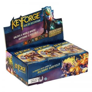 Keyforge Age of Ascension Deck Display (12 Decks)