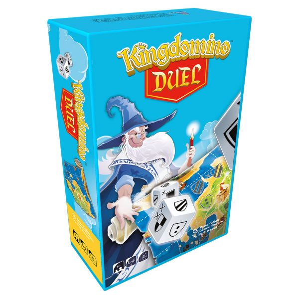 Kingdomino Duel game