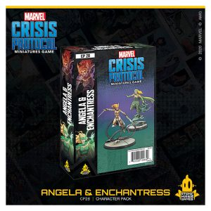 Angela & Enchantress Character Pack Marvel Crisis Protocol