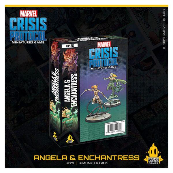 Angela & Enchantress Character Pack Marvel Crisis Protocol