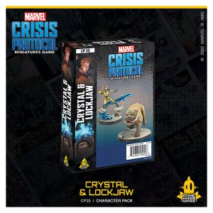 Crystal & Lockjaw Character Pack - Marvel Crisis Protocol