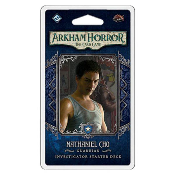 Nathaniel Cho Investigator Starter Deck - Arkham Horror: The Card Game