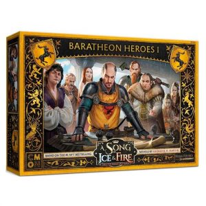 Baratheon Heroes 1 Unit Expansion - A Song of Ice & Fire Tabletop Miniatures Game