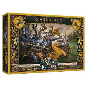 Baratheon Stag Knights Unit Expansion - A Song of Ice & Fire Tabletop Miniatures Game