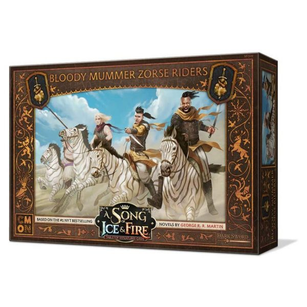 Bloody Mummer Zorse Riders Unit Expansion - A Song of Ice & Fire Tabletop Miniatures Game