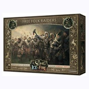 Free Folk Raiders - A Song of Ice & Fire Tabletop Miniatures Game