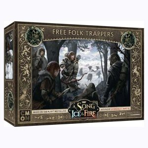 Free Folk Trappers- A Song of Ice & Fire Tabletop Miniatures Game