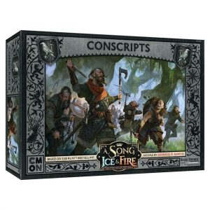 Night's Watch Conscripts Unit Expansion - A Song of Ice & Fire Tabletop Miniatures Game