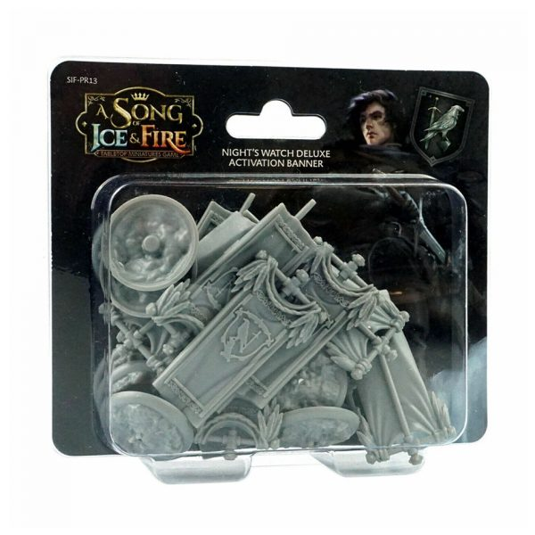 Night's Watch Deluxe Activation Banners Set: A Song of Ice & Fire Miniatures Game