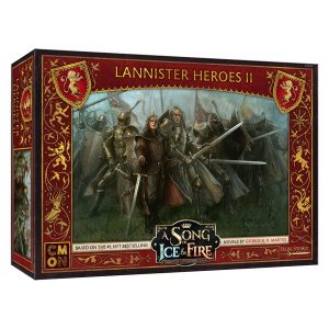 Lannister Heroes #2 Expansion - A Song of Ice & Fire Tabletop Miniatures Game