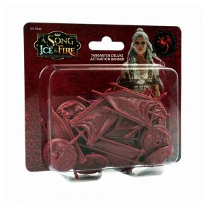 Targaryen Deluxe Activation Banners Set: A Song of Ice & Fire Miniatures Game