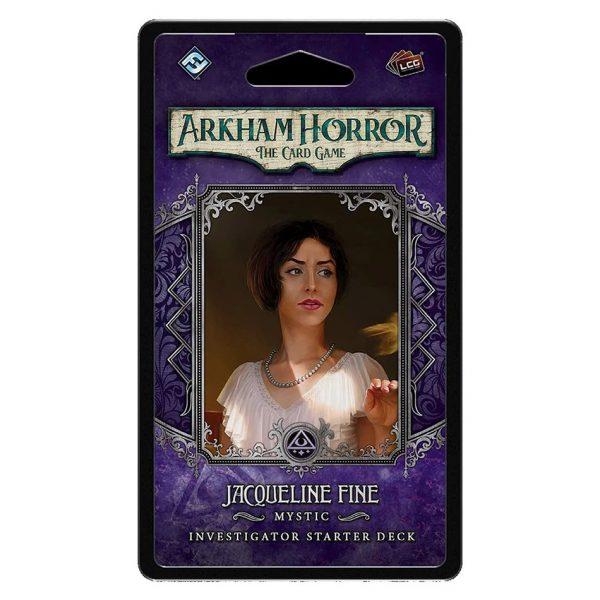 Jacqueline Fine Investigator Starter Deck - Arkham Horror: The Card Game
