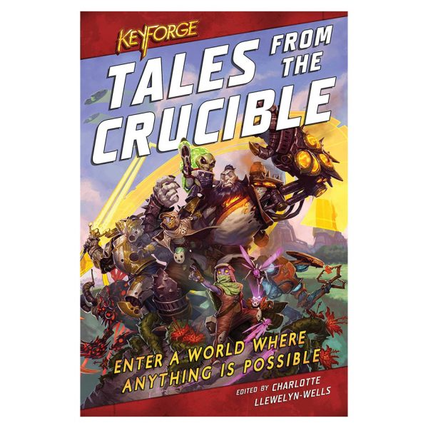 Keyforge: Tales From The Crucible Book