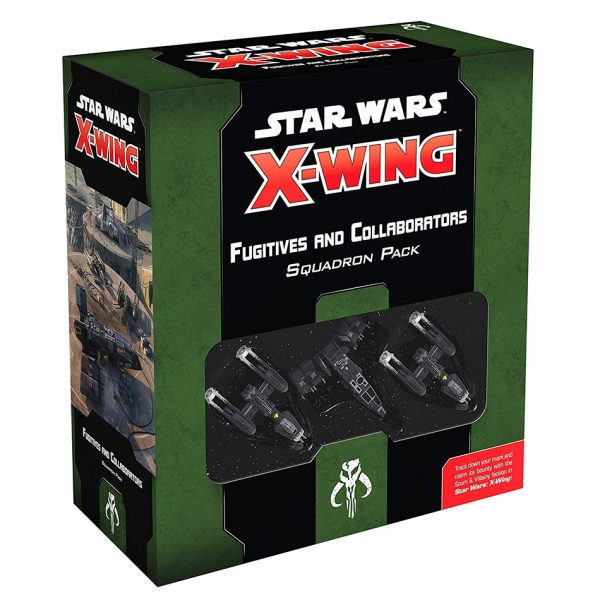 X-Wing: Fugitives & Collaborators Squadron Pack