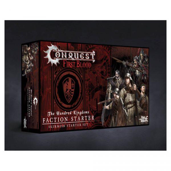 Conquest First Blood: Hundred Kingdoms Faction Starter