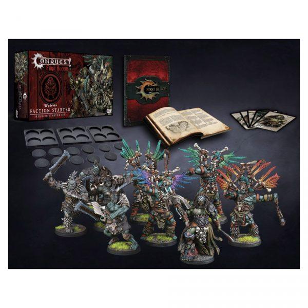 Conquest First Blood: W'adrhŭn Faction Starter