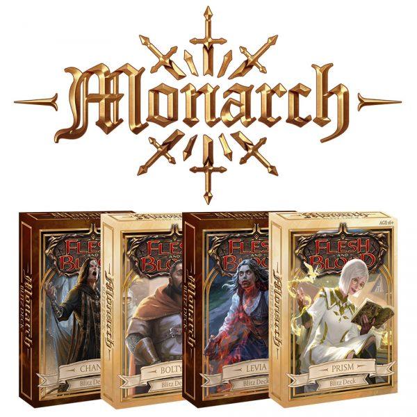 Flesh & Blood TCG: Monarch Blitz Decks