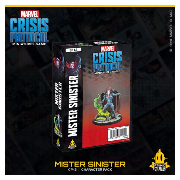 Mister Sinister Character Pack - Marvel Crisis Protocol