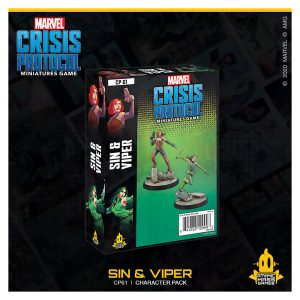 Sin& Viper Character Pack - Marvel Crisis Protocol
