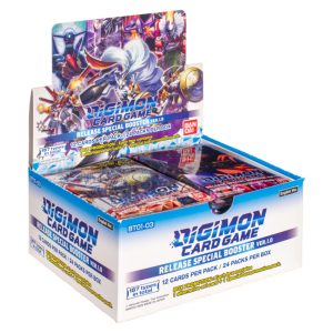 Digimon Card Game: Ver.1.0 BT01-03 Release Special Booster Box