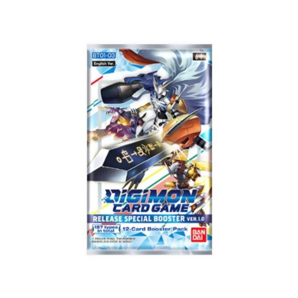 Digimon Card Game: Ver.1.0 BT01-03 Release Special Booster Pack