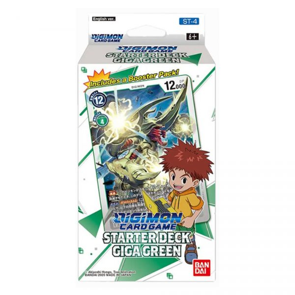 Digimon Card Game: Giga Green Starter Deck