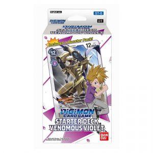 Digimon Card Game: Venomous Violet Starter Deck