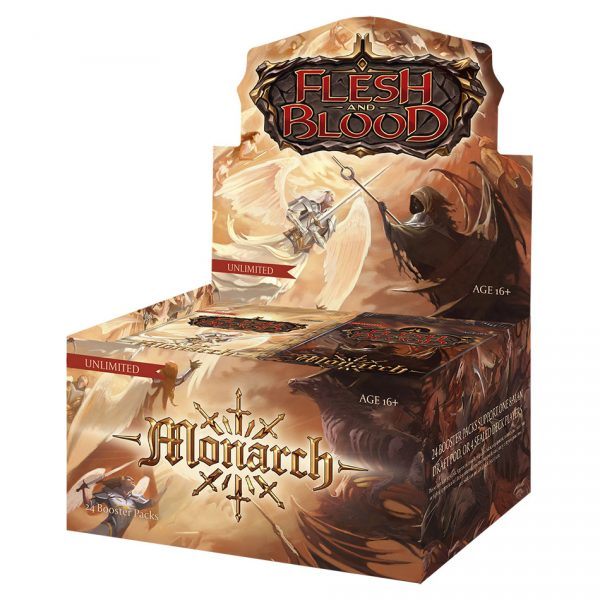 Flesh & Blood TCG: Monarch Unlimited Booster Box