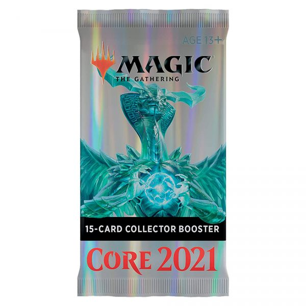 Magic The Gathering: Core Set 2021 Collector Booster Pack