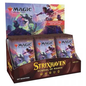 Magic The Gathering: Strixhaven Set Booster Box