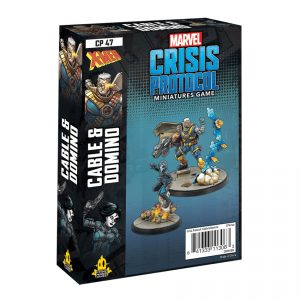 Cable & Domino Character Pack - Marvel Crisis Protocol