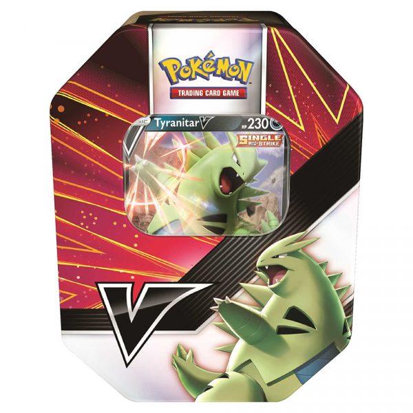 Pokemon TCG: V Strikers Tin - Tyranitar V