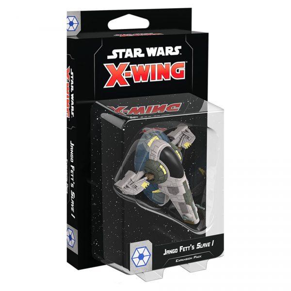 X-Wing: Jango Fett's Slave I (Separatist Firespray) Expansion Pack