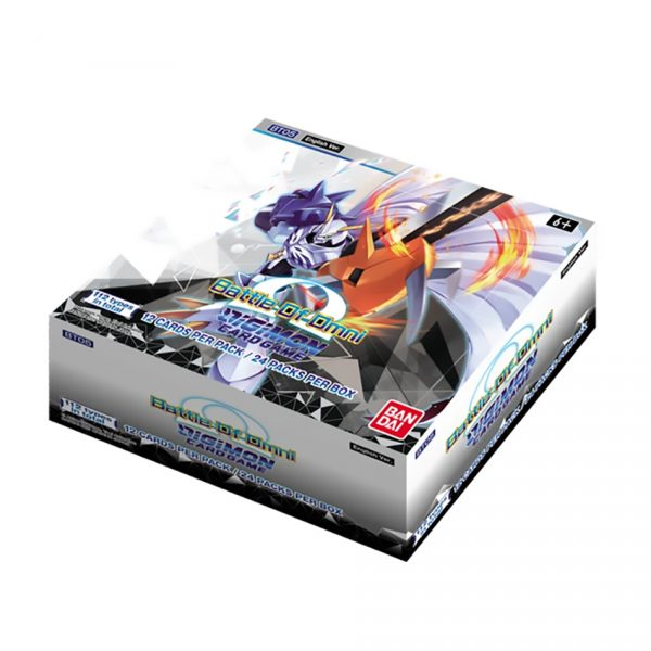 Digimon Card Game: Battle of Omni Booster Box (BT05)
