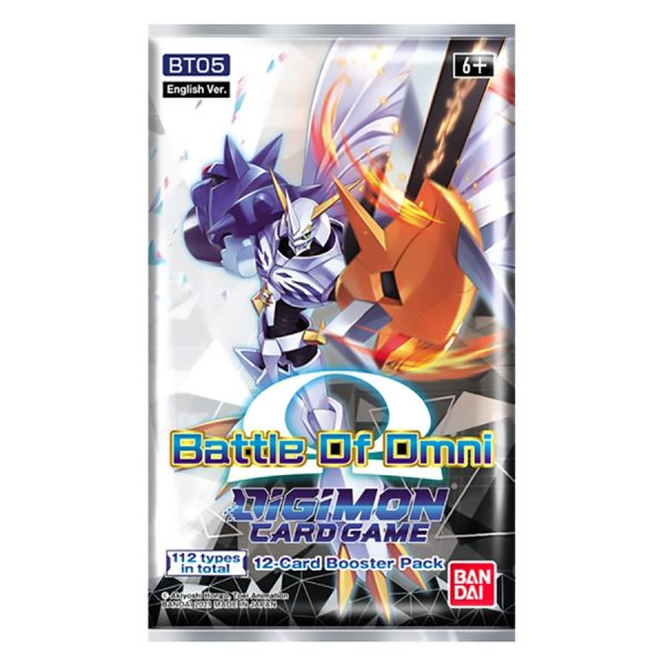 Digimon Card Game: Battle of Omni Booster Pack (BT05)