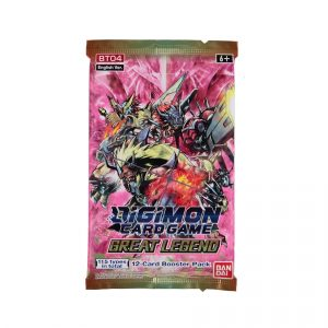 Digimon Card Game: Great Legend Booster Pack (BT04)