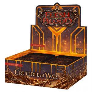 Flesh & Blood TCG Crucible of War Unlimited Booster Box