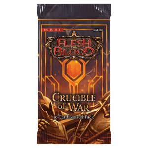 Flesh & Blood TCG: Crucible of War Unlimited Booster Pack
